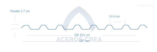 acanalado-acrylit-T-18R-101-aceros-crea