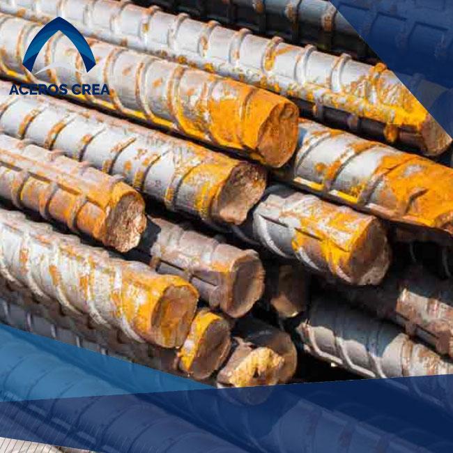 La varilla corrugada es un componente esencial en construcción y se debe cuidar apropiadamente. Contamos con envios a todo el país.