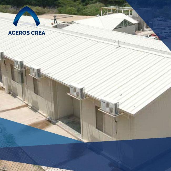 La construcción de techos o muros con caracterísitcas termoacústicas puede ser realizada con varios tipos de productos. Envíos a todo México.