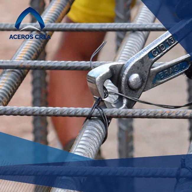 El alambre recocido es un componente flexible que tiene facilidades para ser adaptado. ¡Somos fabricantes de acero! Enviamos a todo México.