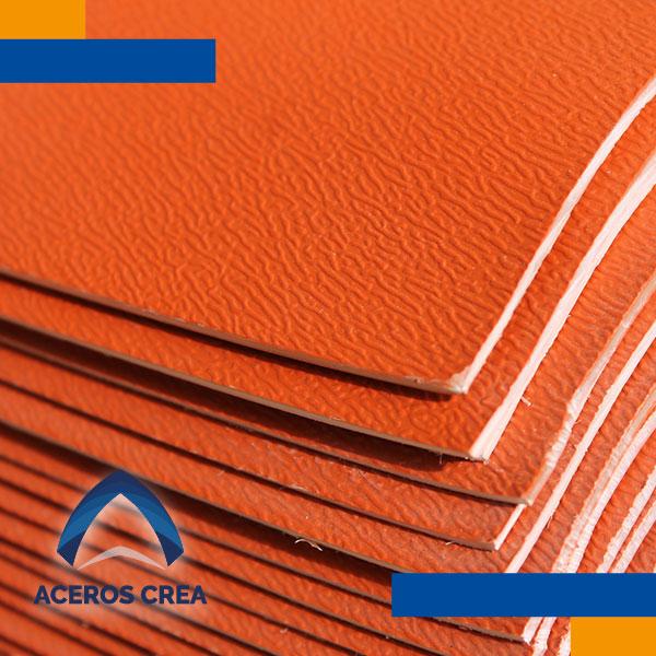 Lámina termoplastica tipo teja de PVC