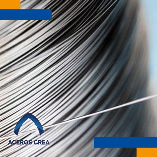 alambre de acero con recubrimiento galvanizado