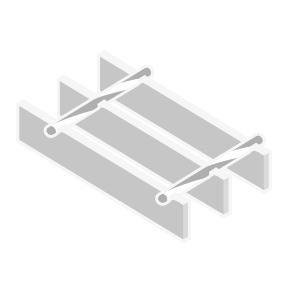 Ilustración Rejilla de Acero